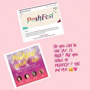 Other - I'm go to PoshFest and the Posh N Sip shown in Pic
